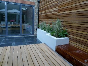 Decking Wooden Garden Decking Clapham Balham Wandsworth